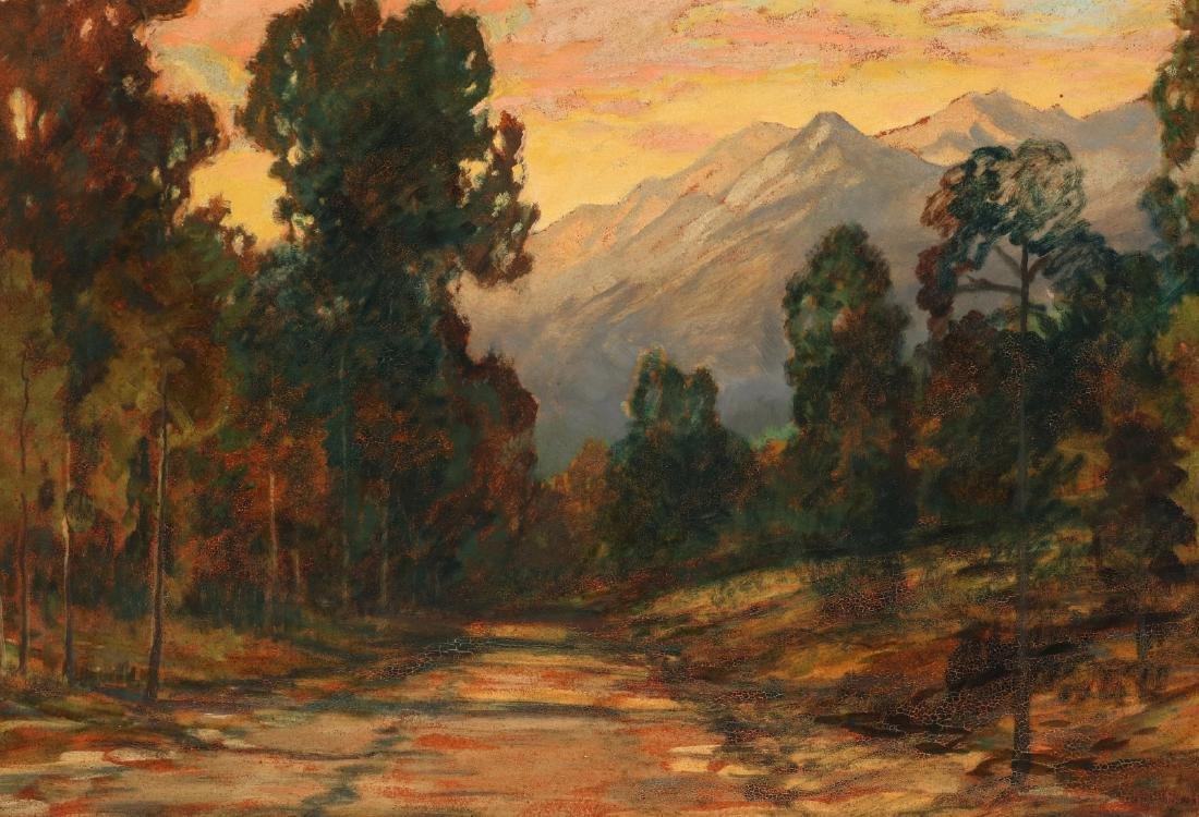 DAVID STIRLING (1887-1971) OIL ON ARTIST'S BOARD