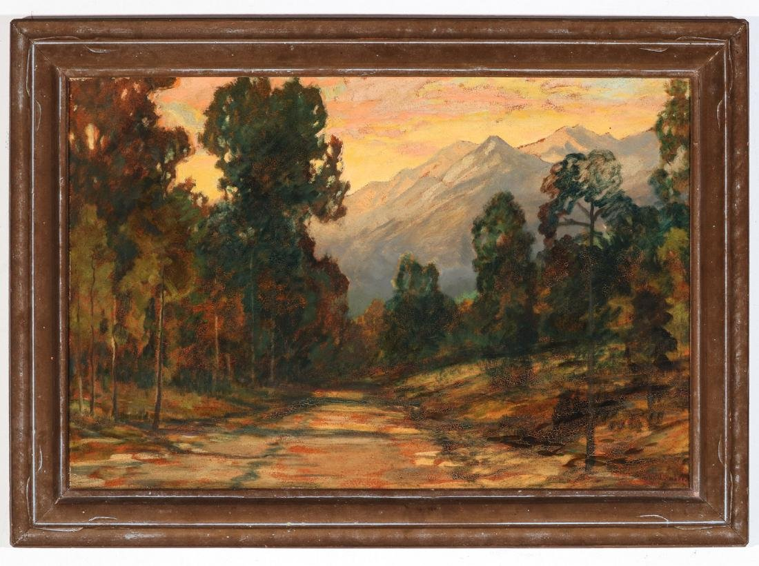 DAVID STIRLING (1887-1971) OIL ON ARTIST'S BOARD - 2
