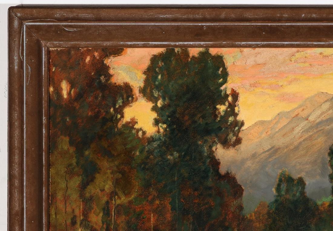 DAVID STIRLING (1887-1971) OIL ON ARTIST'S BOARD - 3