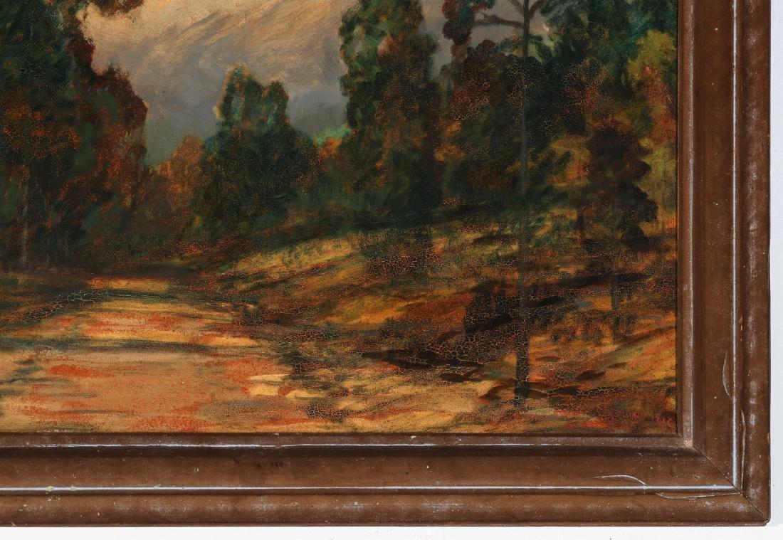 DAVID STIRLING (1887-1971) OIL ON ARTIST'S BOARD - 5