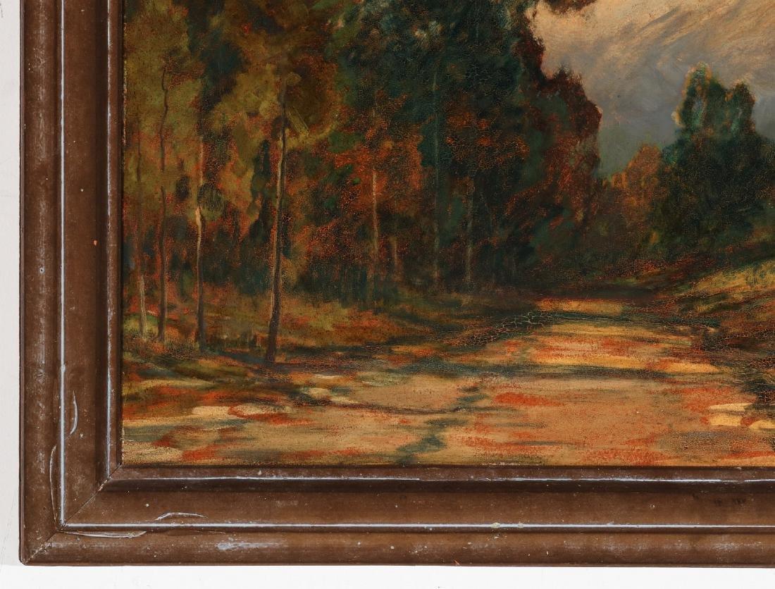 DAVID STIRLING (1887-1971) OIL ON ARTIST'S BOARD - 6