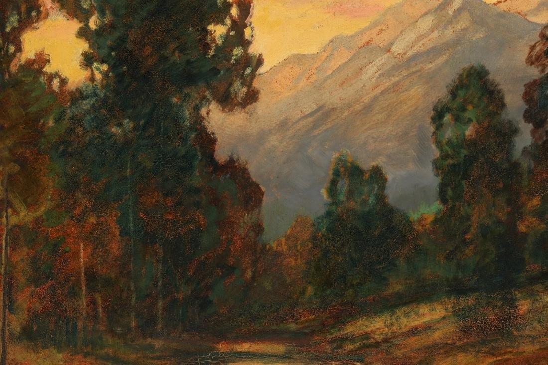 DAVID STIRLING (1887-1971) OIL ON ARTIST'S BOARD - 7