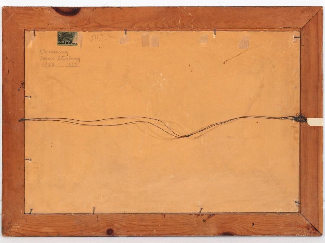 DAVID STIRLING (1887-1971) OIL ON ARTIST'S BOARD - 9