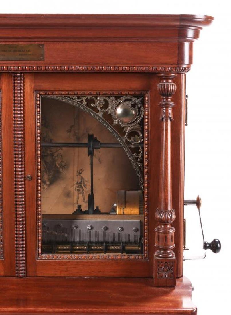 A REGINA COIN OPERATED 27-INCH DISC MUSIC BOX - 3
