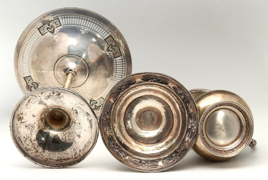 AN ESTATE COLLECTION OF STERLING SILVER - 10