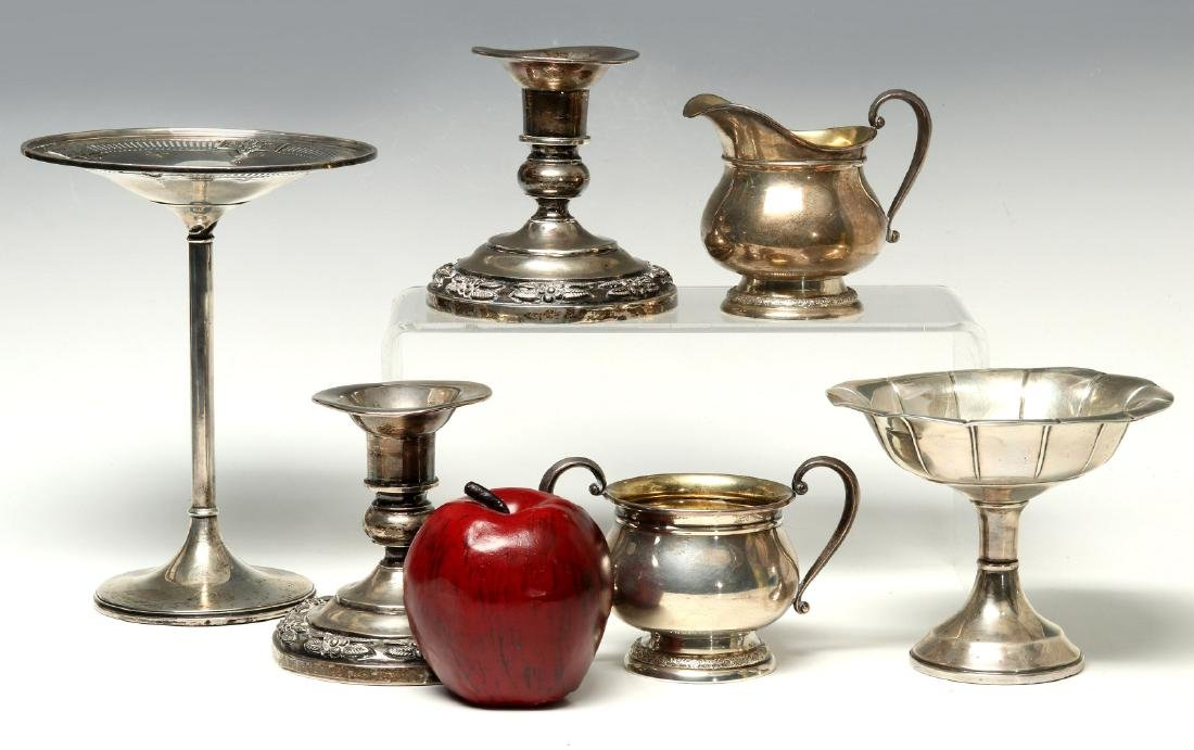 AN ESTATE COLLECTION OF STERLING SILVER - 2