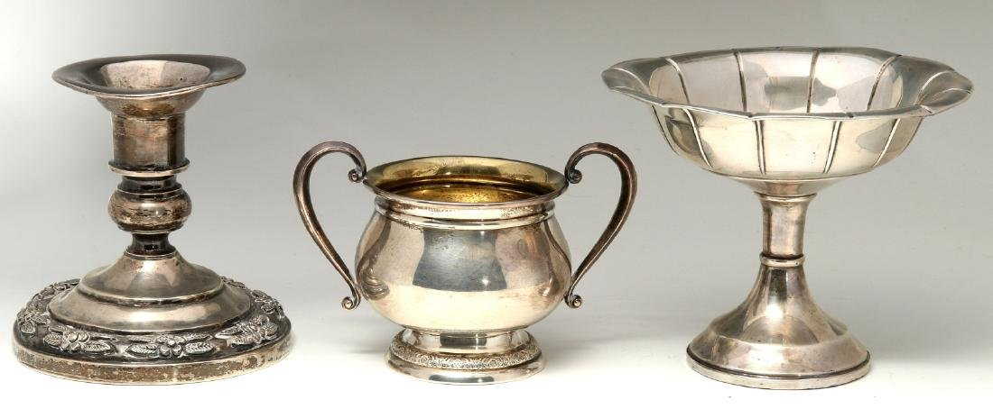 AN ESTATE COLLECTION OF STERLING SILVER - 3