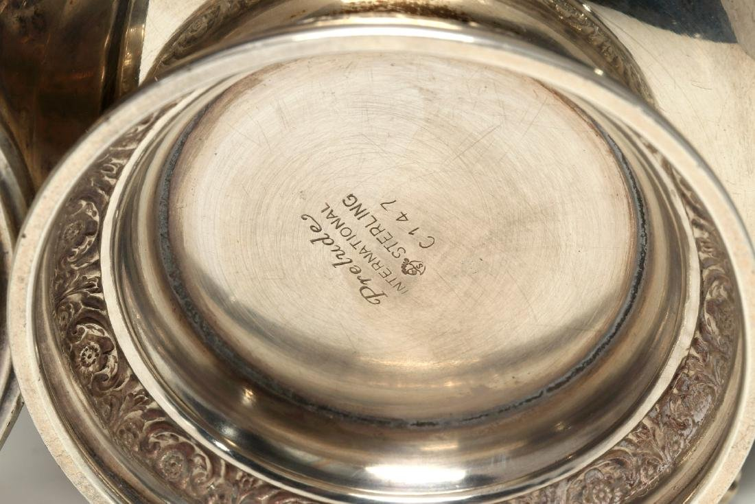 AN ESTATE COLLECTION OF STERLING SILVER - 7