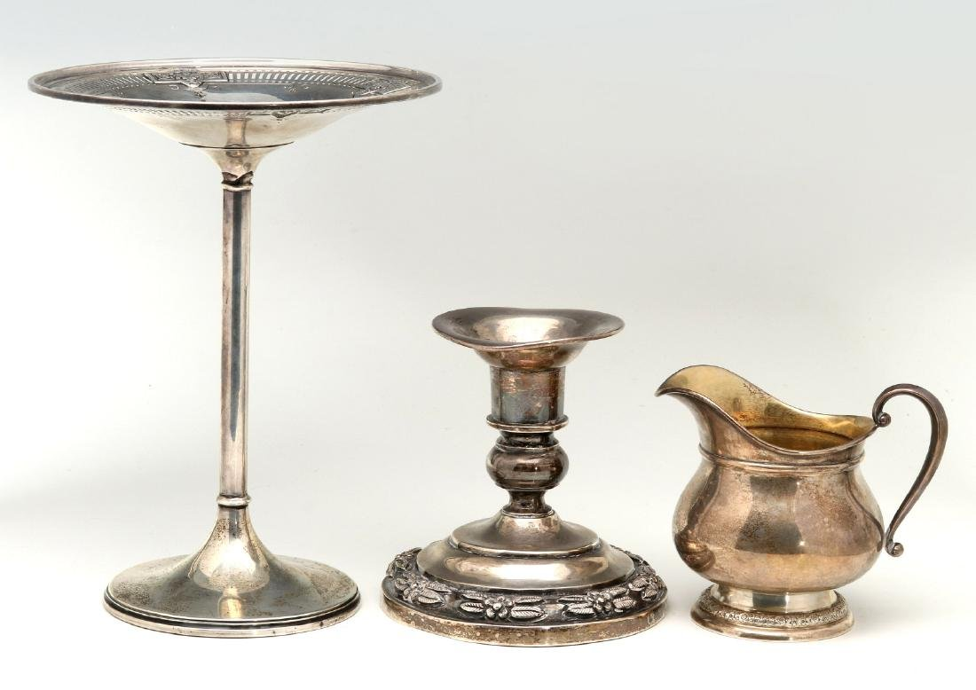 AN ESTATE COLLECTION OF STERLING SILVER - 9