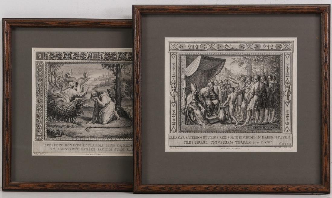 PAIR OF 17TH C. ENGRAVINGS AFTER RAPHAEL (1483-1520)