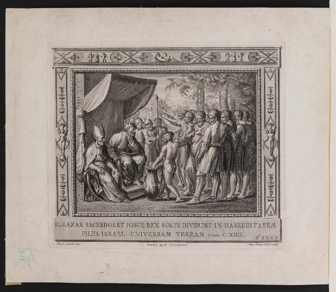 PAIR OF 17TH C. ENGRAVINGS AFTER RAPHAEL (1483-1520) - 3