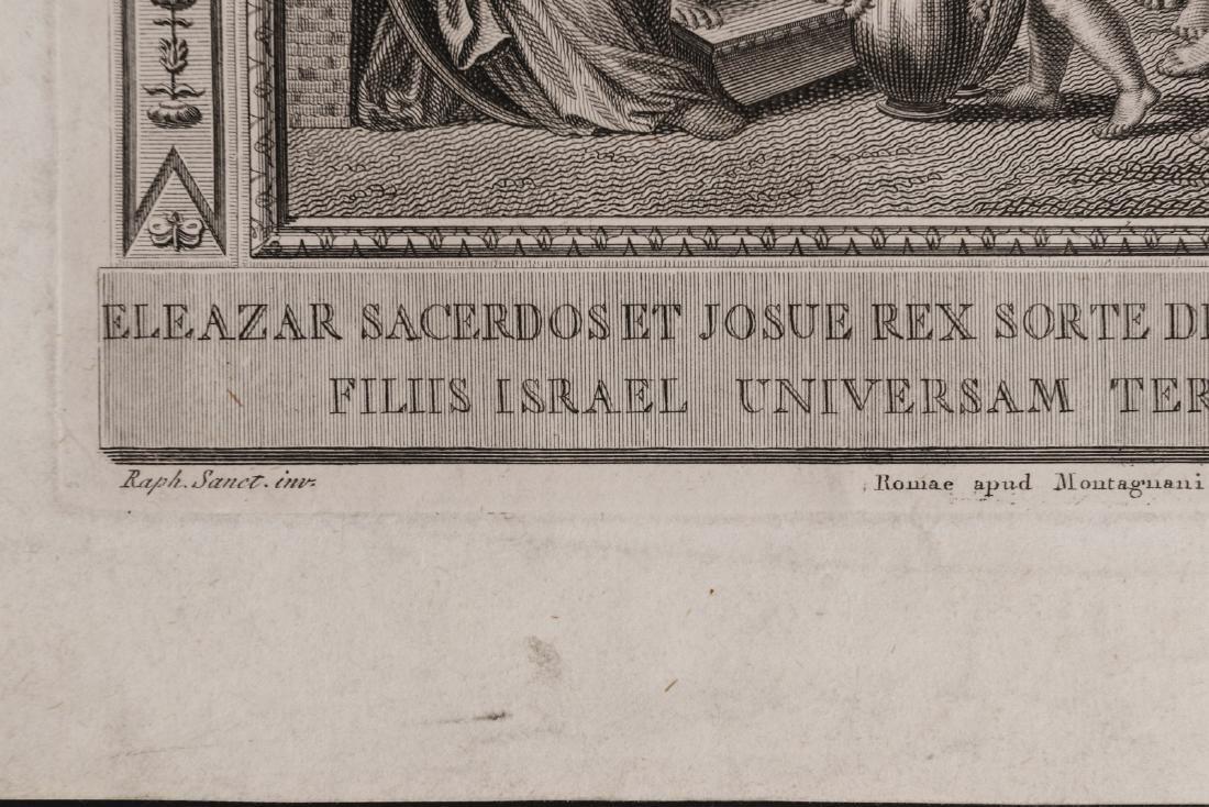 PAIR OF 17TH C. ENGRAVINGS AFTER RAPHAEL (1483-1520) - 7