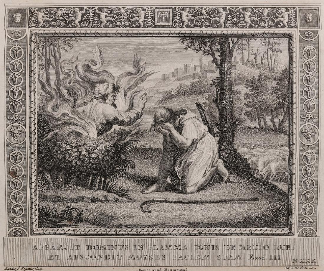 PAIR OF 17TH C. ENGRAVINGS AFTER RAPHAEL (1483-1520) - 9
