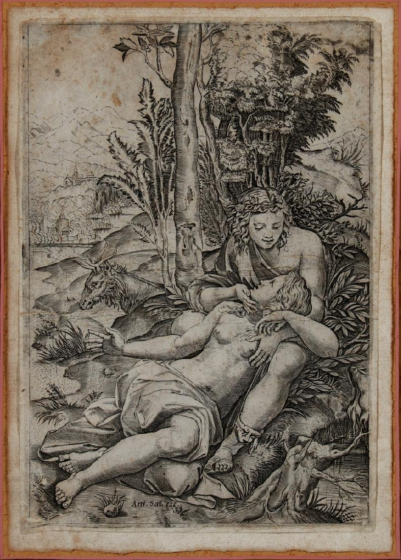 CIRCA 16TH AND 17TH CENTURY ENGRAVINGS - 2