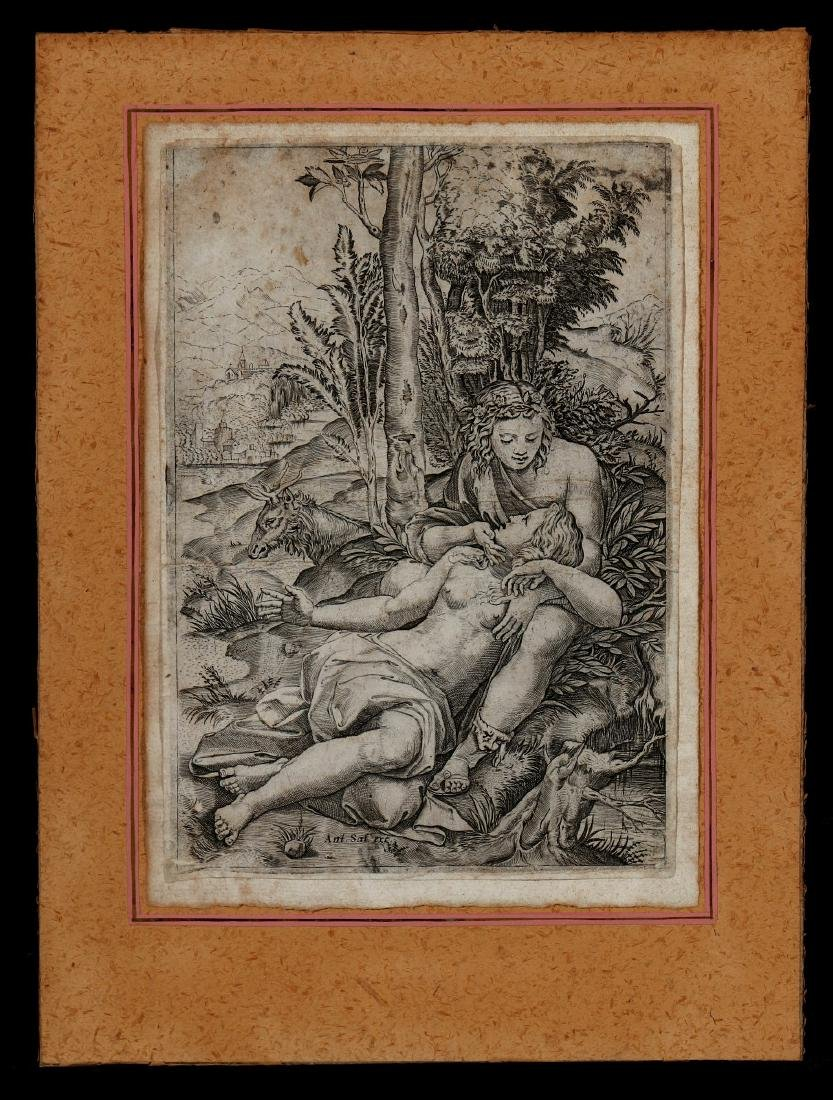 CIRCA 16TH AND 17TH CENTURY ENGRAVINGS - 3