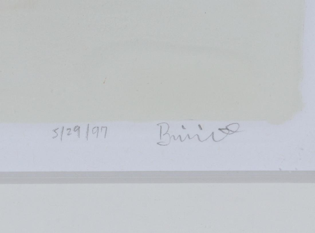 THREE COLOR SERIGRAPHS SIGNED 'BRINNID' - 6