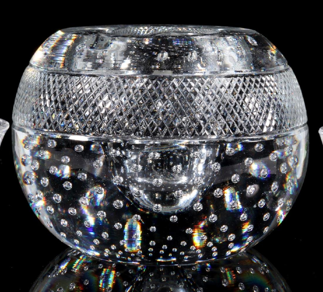 WEBB AND LALIQUE CRYSTAL OBJECTS - 4