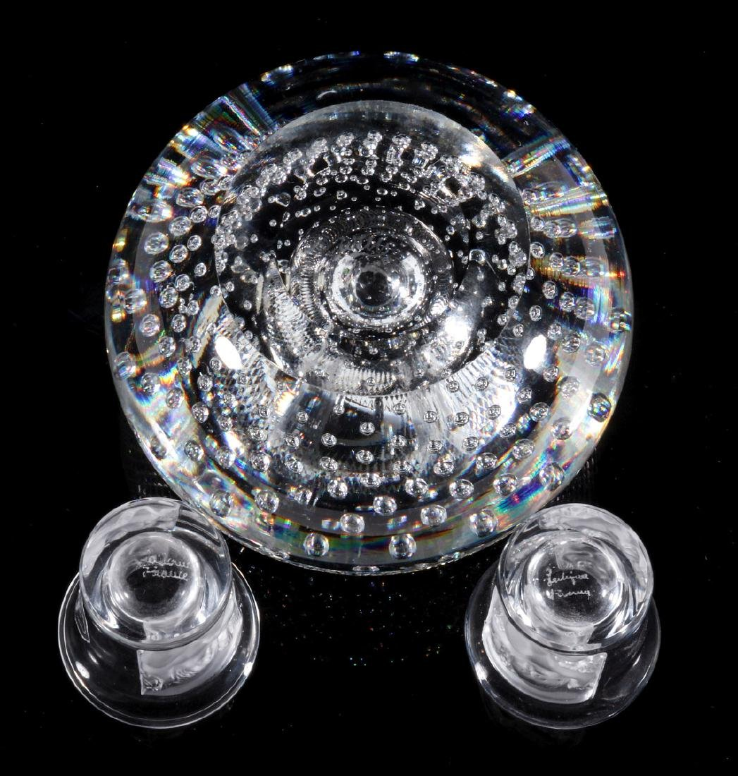 WEBB AND LALIQUE CRYSTAL OBJECTS - 9