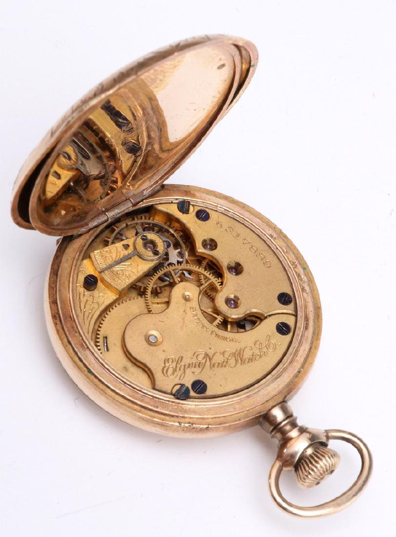 A COLLECTION OF VICTORIAN SMALLS, WATCH & JEWELRY - 10