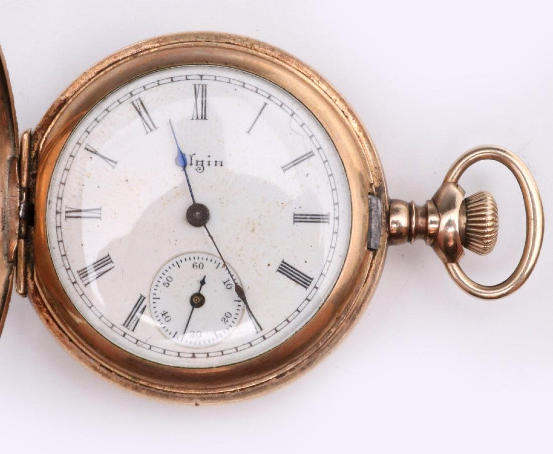 A COLLECTION OF VICTORIAN SMALLS, WATCH & JEWELRY - 6
