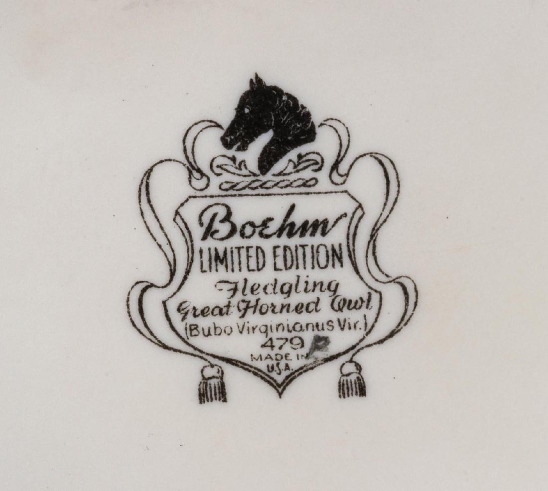 A COLLECTION OF BOEHM PORCELAIN BIRD FIGURES - 5