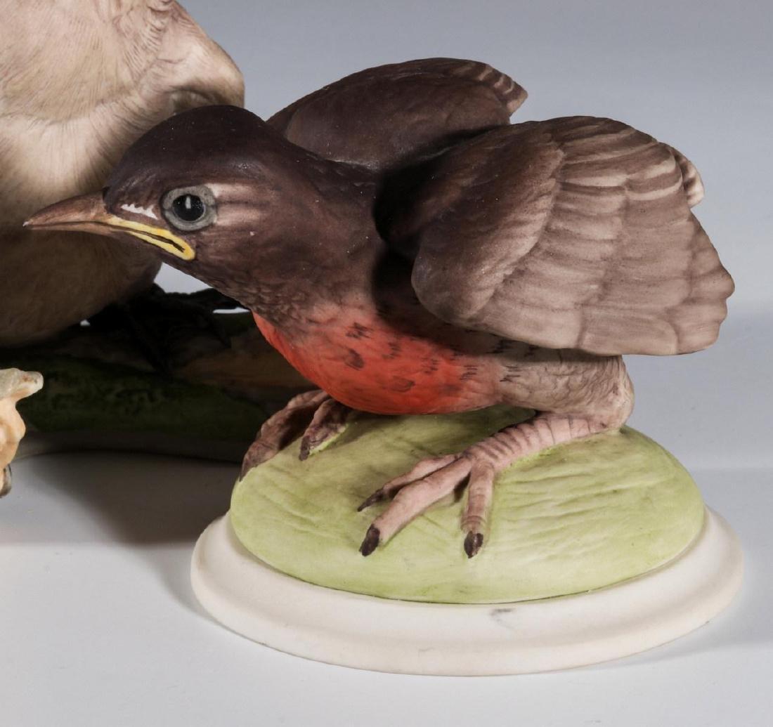 A COLLECTION OF BOEHM PORCELAIN BIRD FIGURES - 7