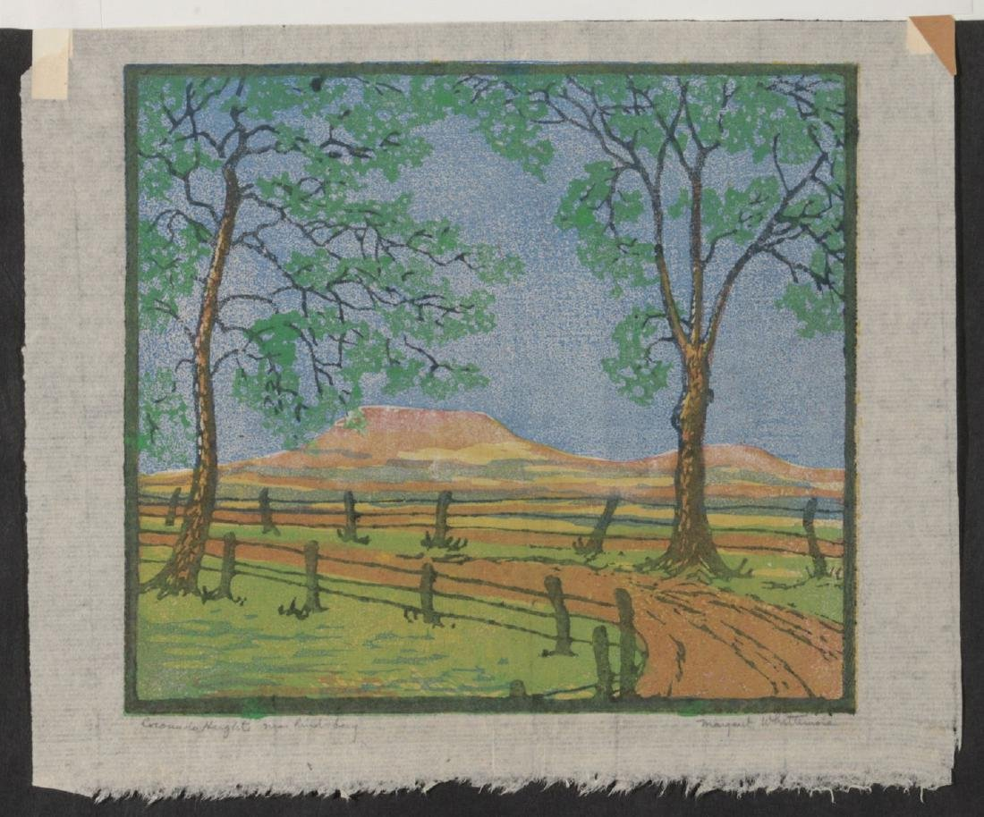 MARGARET WHITTEMORE (1897-1983) SIGNED WOODBLOCK - 2