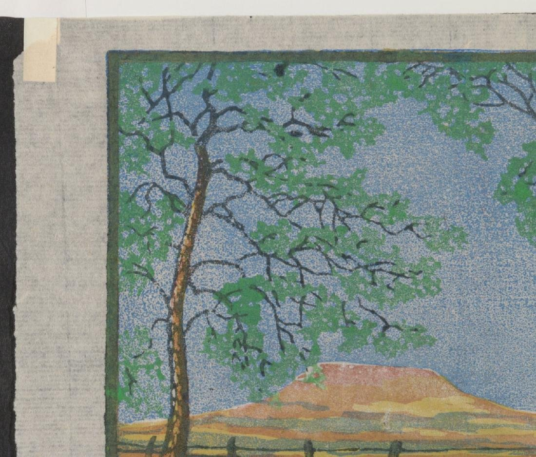 MARGARET WHITTEMORE (1897-1983) SIGNED WOODBLOCK - 3