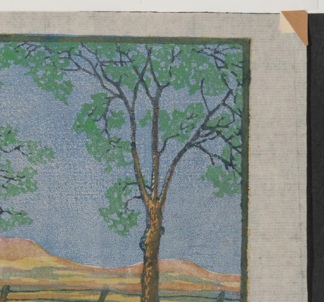 MARGARET WHITTEMORE (1897-1983) SIGNED WOODBLOCK - 4