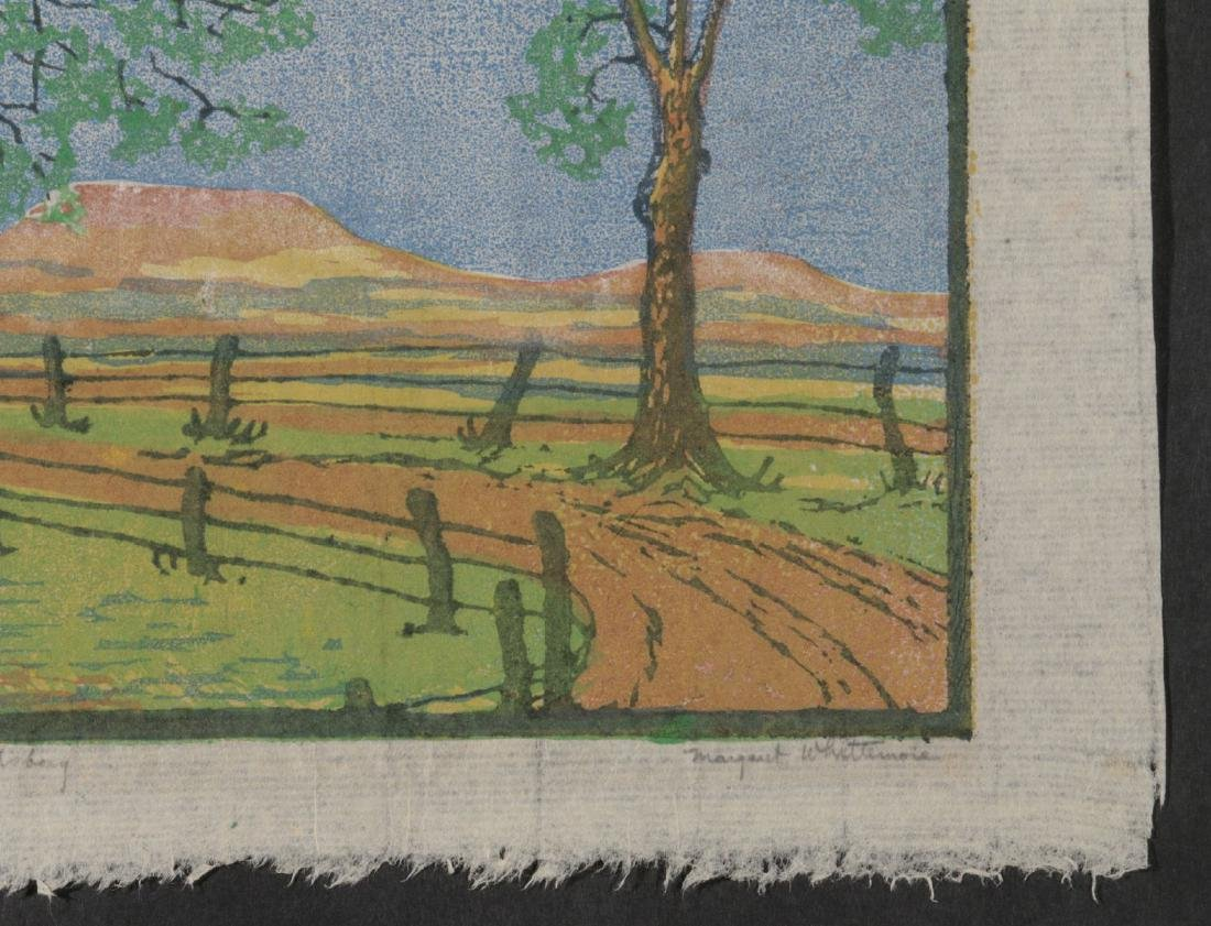 MARGARET WHITTEMORE (1897-1983) SIGNED WOODBLOCK - 5