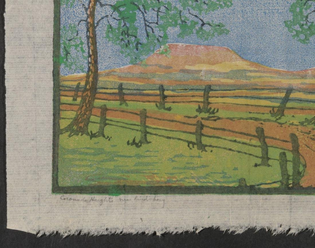 MARGARET WHITTEMORE (1897-1983) SIGNED WOODBLOCK - 6
