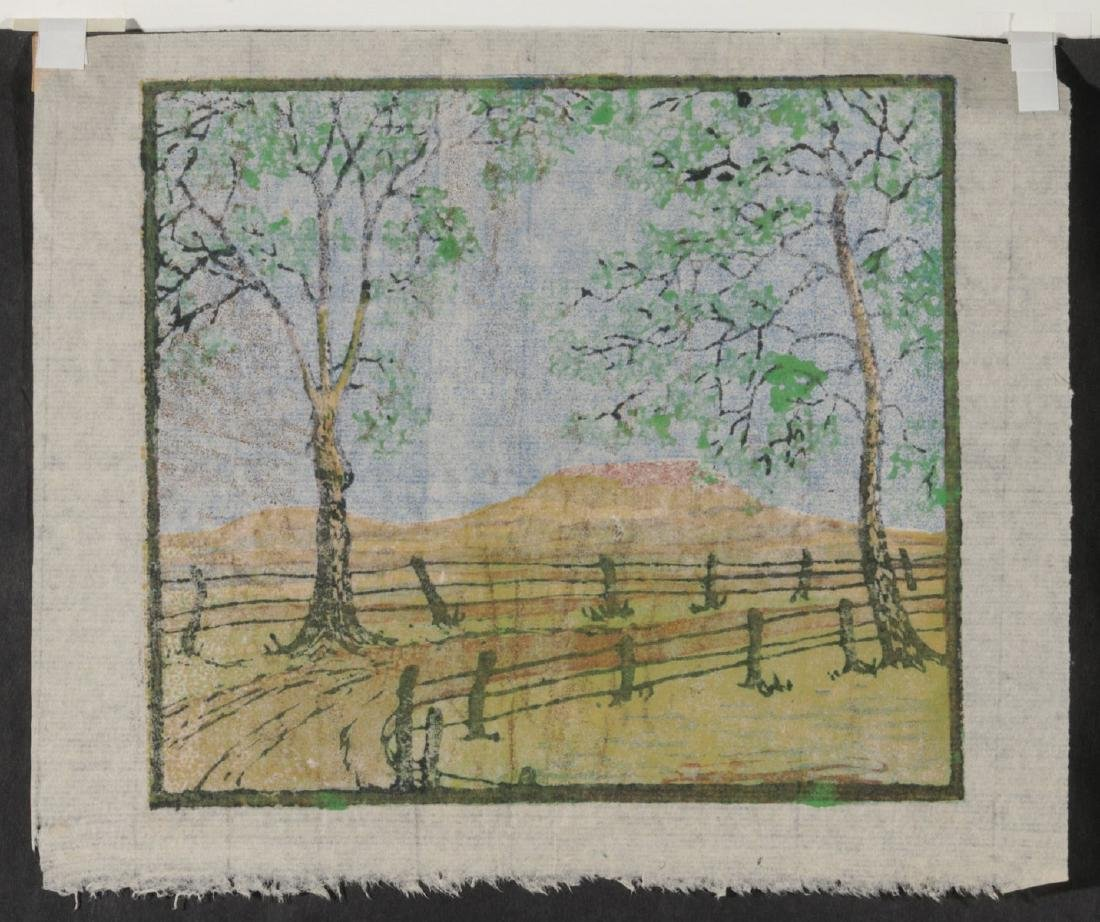 MARGARET WHITTEMORE (1897-1983) SIGNED WOODBLOCK - 9