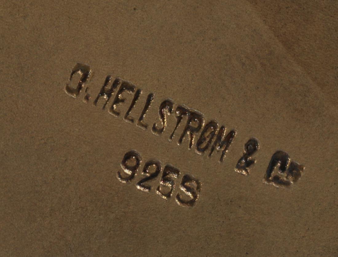 A G. HELLSTROM STERLING PLIQUE A JOUR TRINKET BOX - 9