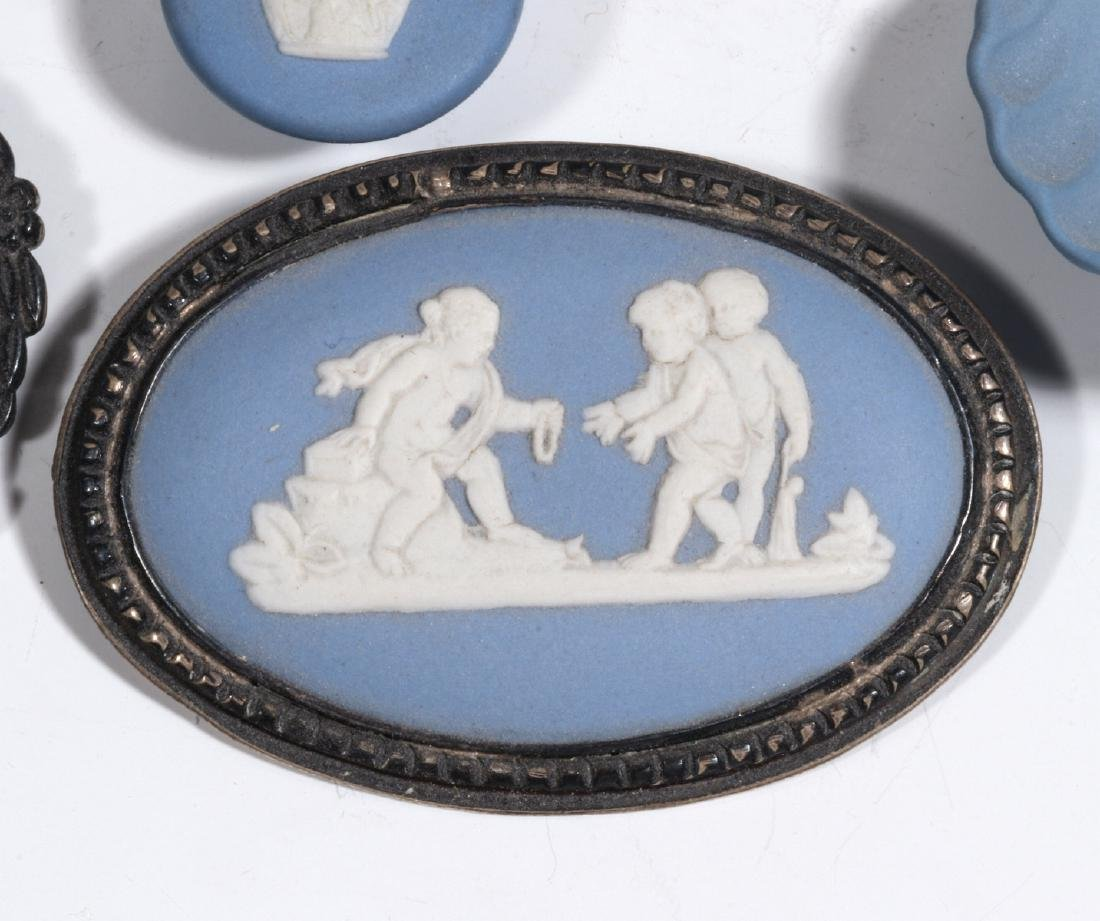 WEDGWOOD AND OTHER JASPER JEWELRY AND MINIATURES - 3