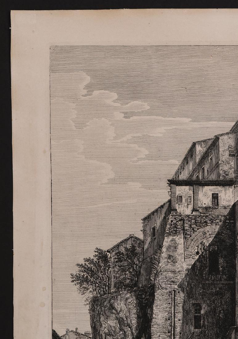 A 19TH CENTURY ENGRAVING LUIGI ROSSINI (1790-1857) - 3