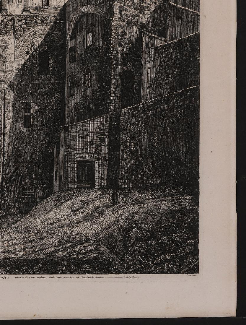 A 19TH CENTURY ENGRAVING LUIGI ROSSINI (1790-1857) - 5
