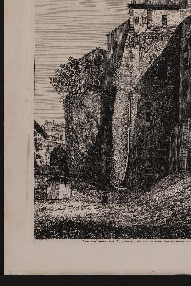 A 19TH CENTURY ENGRAVING LUIGI ROSSINI (1790-1857) - 6