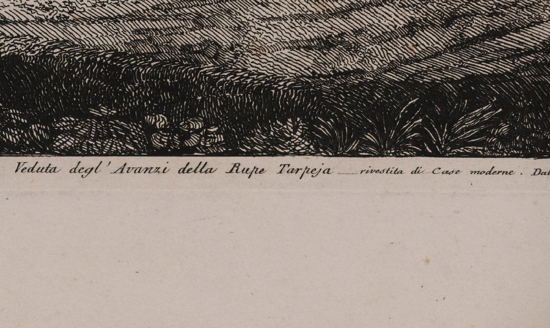 A 19TH CENTURY ENGRAVING LUIGI ROSSINI (1790-1857) - 7