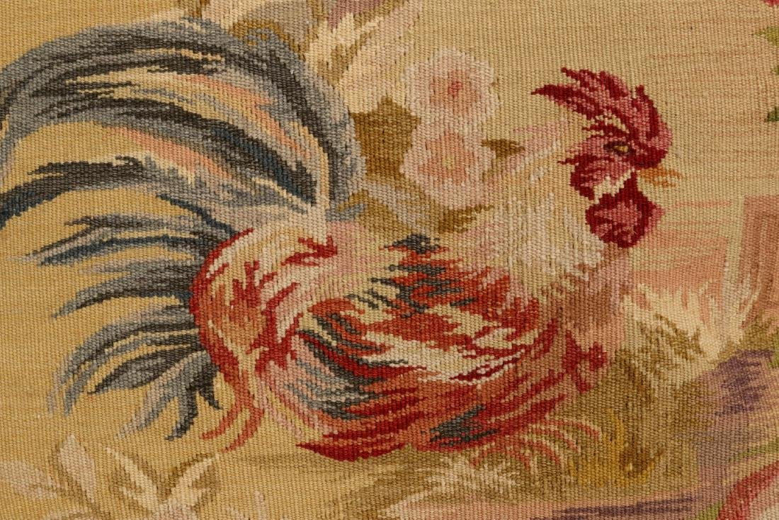 A PAIR NICE CONTEMPORARY FRENCH TAPESTRY PILLOWS - 4