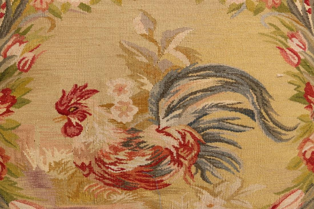 A PAIR NICE CONTEMPORARY FRENCH TAPESTRY PILLOWS - 9