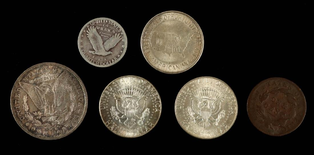 AN ESTATE LOT OF AMERICAN COINAGE - 6