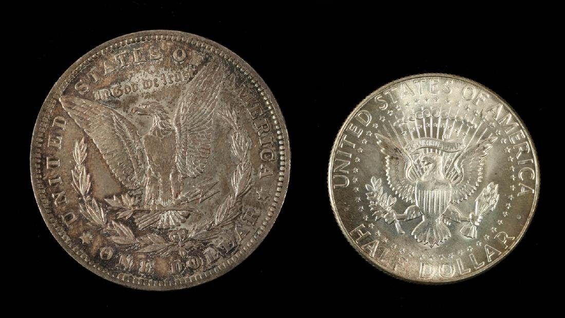 AN ESTATE LOT OF AMERICAN COINAGE - 7