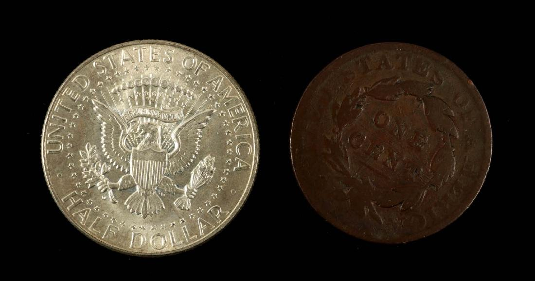 AN ESTATE LOT OF AMERICAN COINAGE - 8