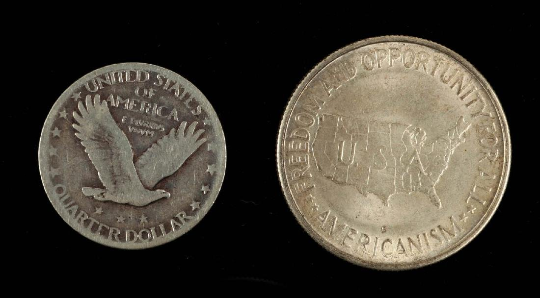 AN ESTATE LOT OF AMERICAN COINAGE - 9