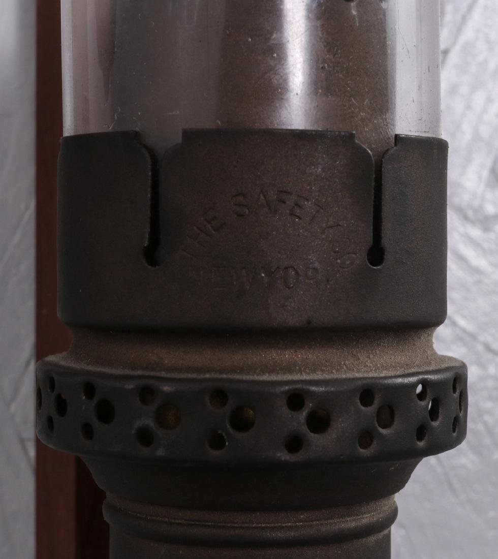PAIR OF SAFETY CAR RAILROAD CANDLE LAMPS NO. 282 - 9