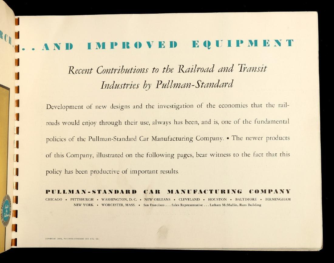 A PULLMAN-STANDARD RAILCAR CATALOG FOR 1936 - 10