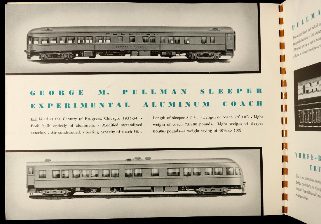A PULLMAN-STANDARD RAILCAR CATALOG FOR 1936 - 5