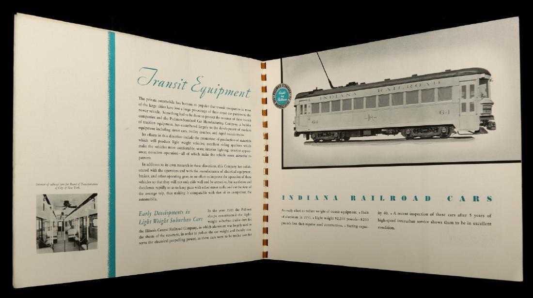 A PULLMAN-STANDARD RAILCAR CATALOG FOR 1936 - 6