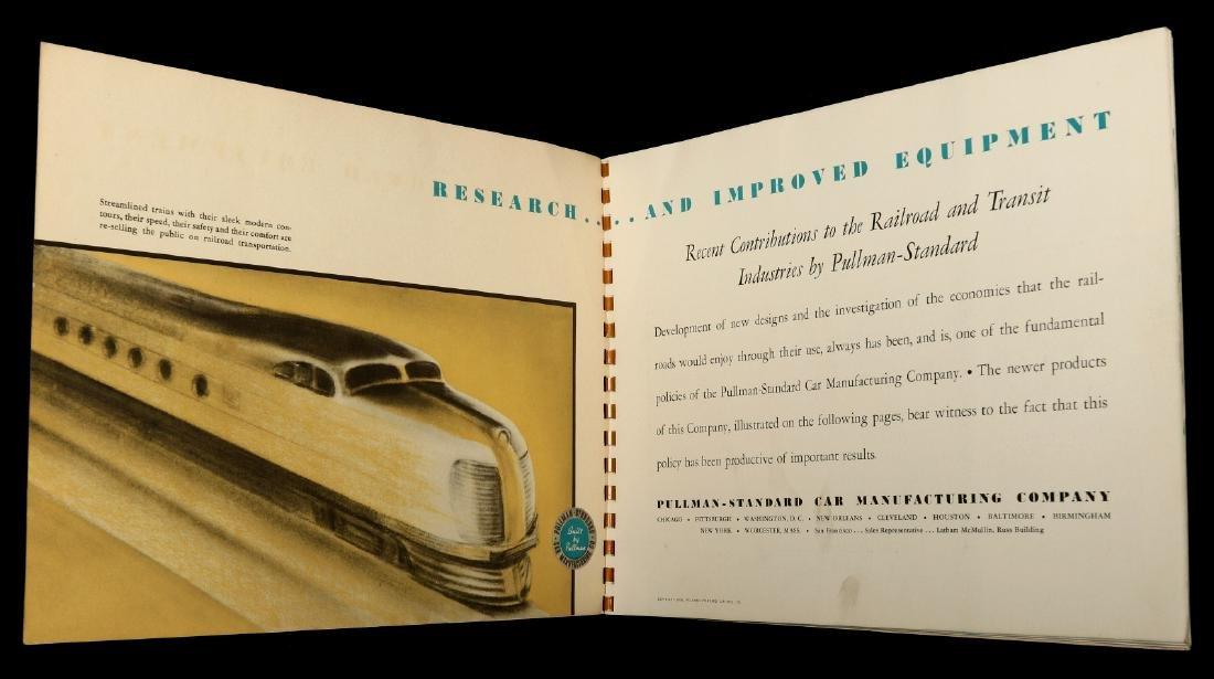 A PULLMAN-STANDARD RAILCAR CATALOG FOR 1936 - 8