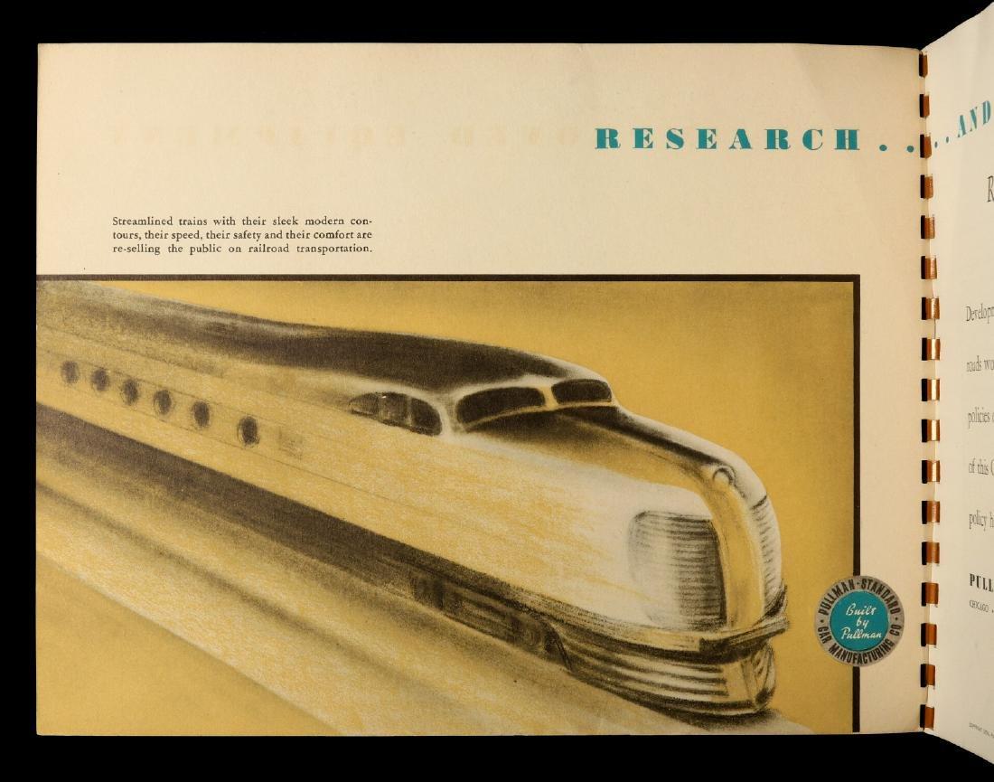 A PULLMAN-STANDARD RAILCAR CATALOG FOR 1936 - 9